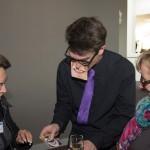 """Die (be)zaubernden Comedy-Kellner """"Hans & franZ"""" für die Fa. Sharp in Düsseldorf"""