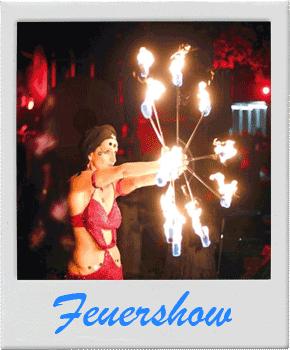 Feuer-Show - Feuerschlucker - Feuerspucker - Köln