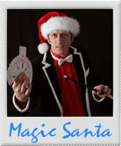 Weihnachtsmann-Zauberer-Xmas