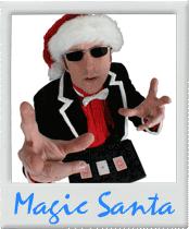 Der Weihnachtsmann Santa Claus Zauberer Zauberkünstler Magier Closeup Tischzauberer Table Hopping für Ihre Weihnachtsfeier, Weihnachtsmarkt, Christbaumschlagen, Betriebsweihnachtsfeier, Firmenweihnachtsfeier