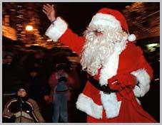 Der Weihnachtsmann als Statist, Hostesse, Livingdoll, Komparse, etc. für Ihre Weihnachtsfeier, Weihnachtsmarkt, Christbaumschlagen, Betriebsweihnachtsfeier, Firmenweihnachtsfeier
